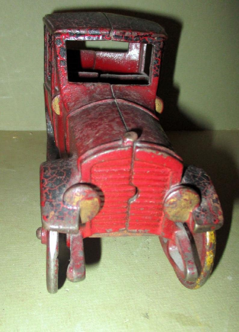 Cast Iron Toy Car Circa 1920 - 2