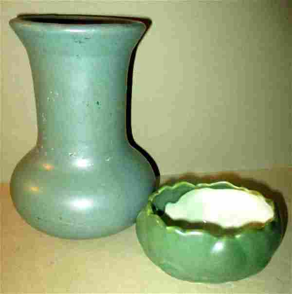 Two Pieces of Art Pottery