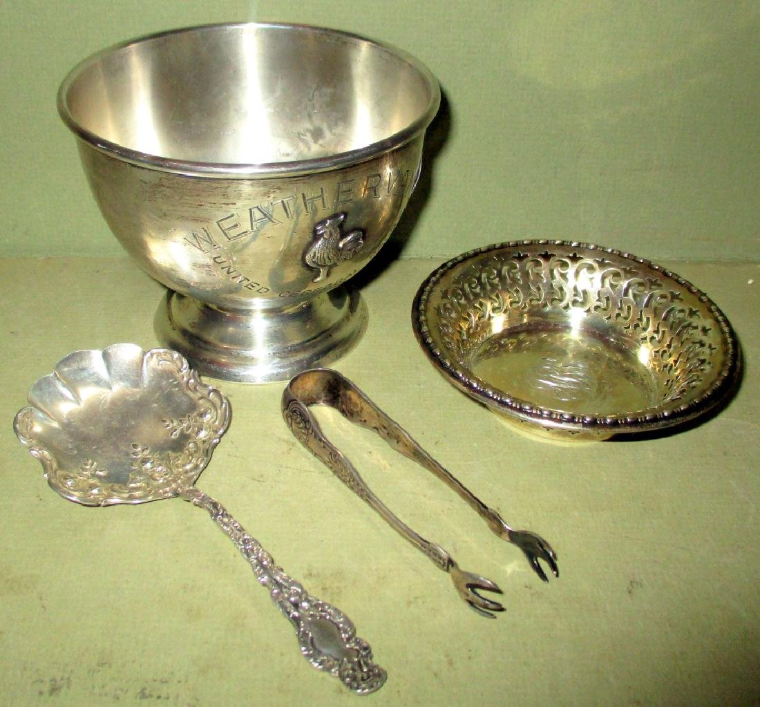 Four Piece Lot of Sterling Silver Items