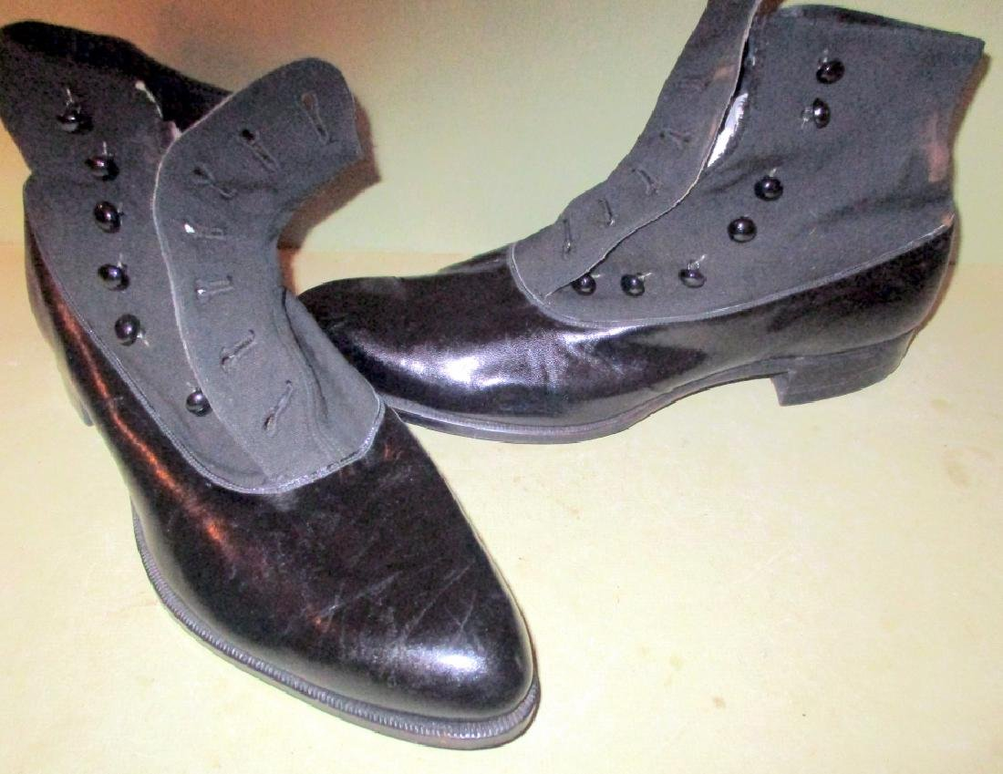 Pair of Early 20th Century Button Up Shoes