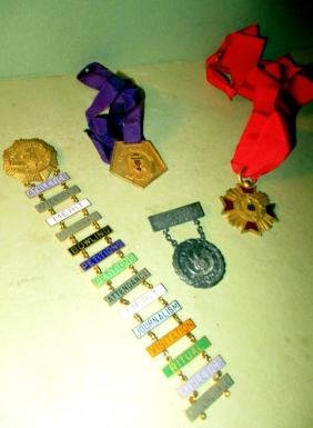 Lot of Four Organization Medals