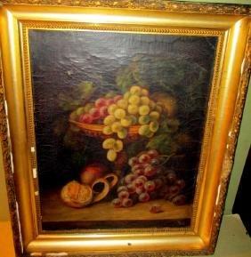 Victorian Still Life of Fruit