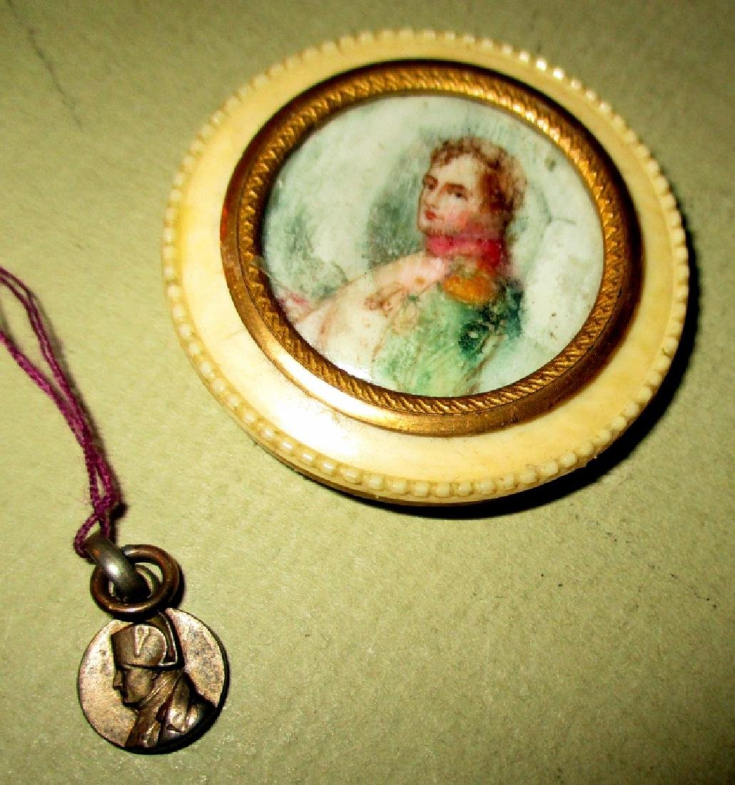 Miniature Painting of Napoleon