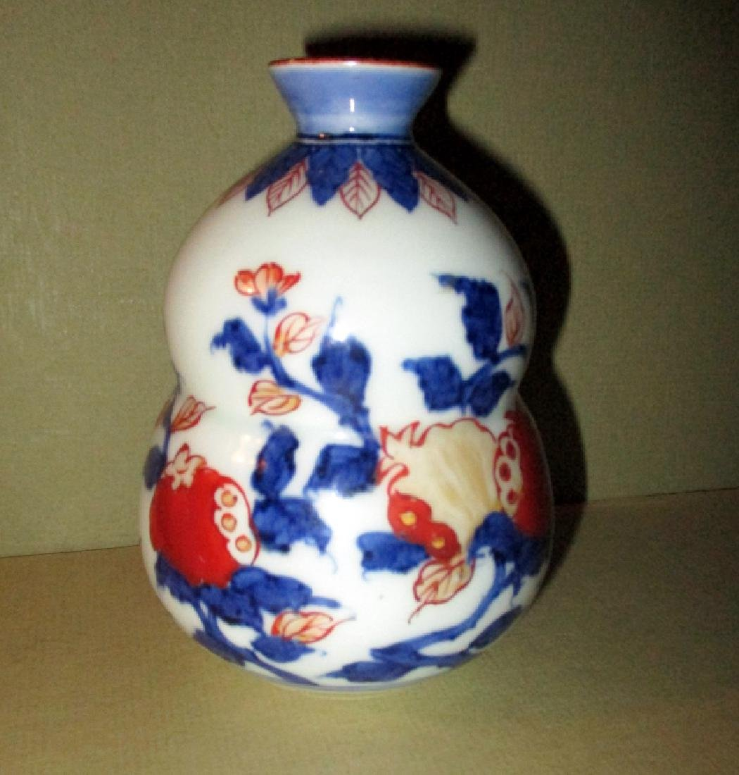 Early 19th C. Japanese Double Gourd Vase