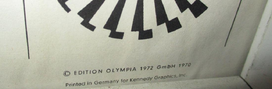 Original 1972 Munich Olympic Poster - 2