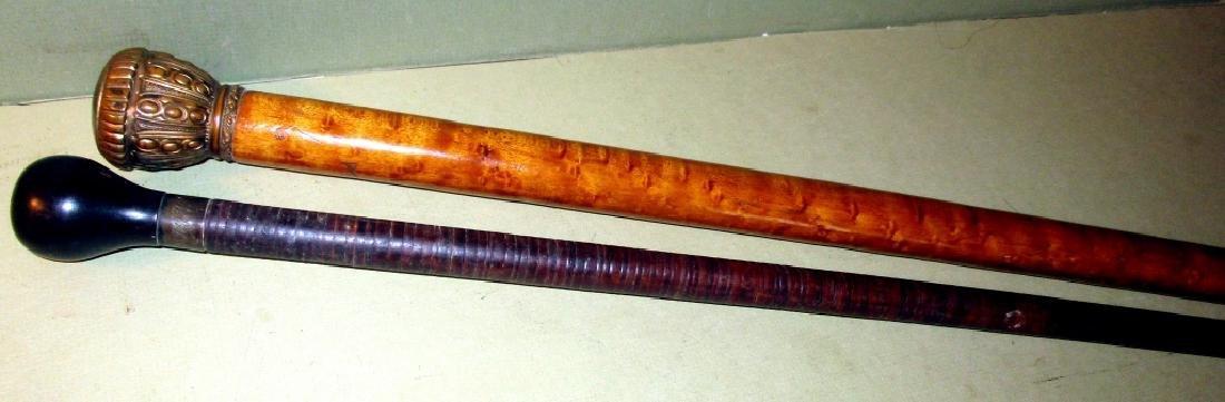 Two Antique Walking Sticks
