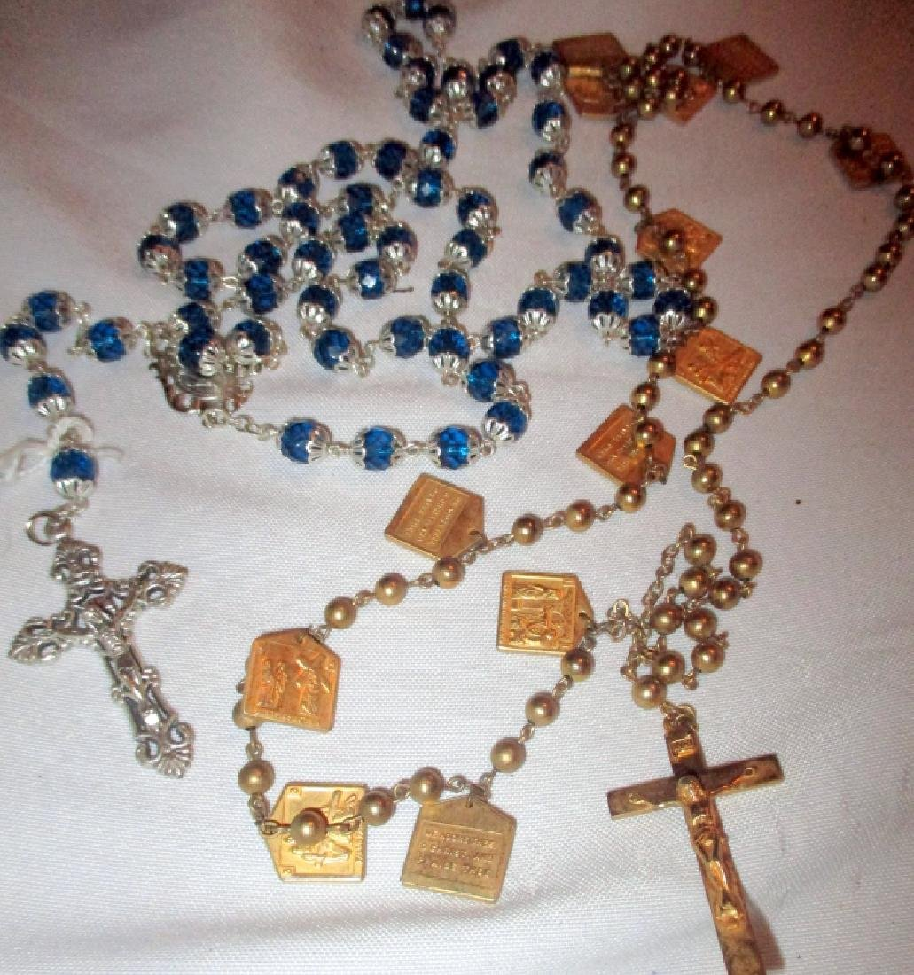 Two Sets of Rosary Beads