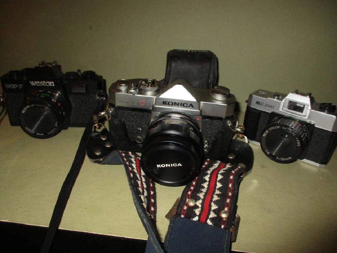 Lot of Three Vintage Cameras