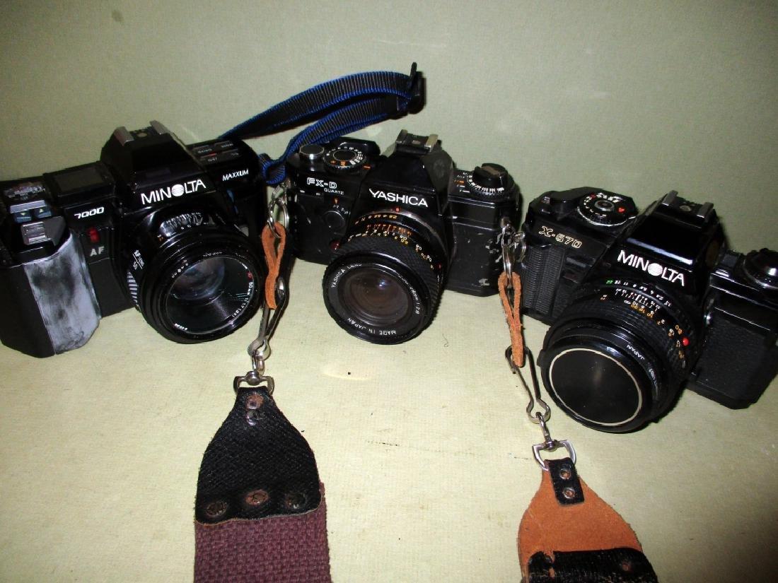 Lot of Three Vintage 35mm Cameras