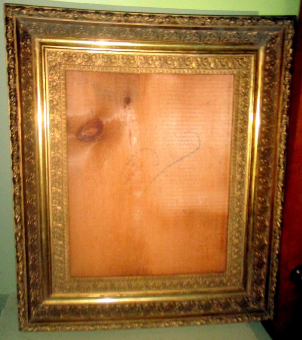 19th Century Deep Gilt Frame