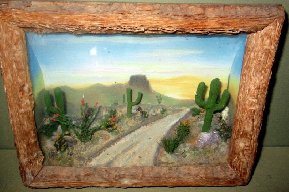 Early 20th Century Western Diorama
