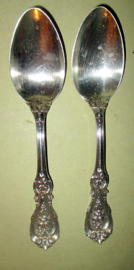 Pair of Francis I Sterling Serving Spoons
