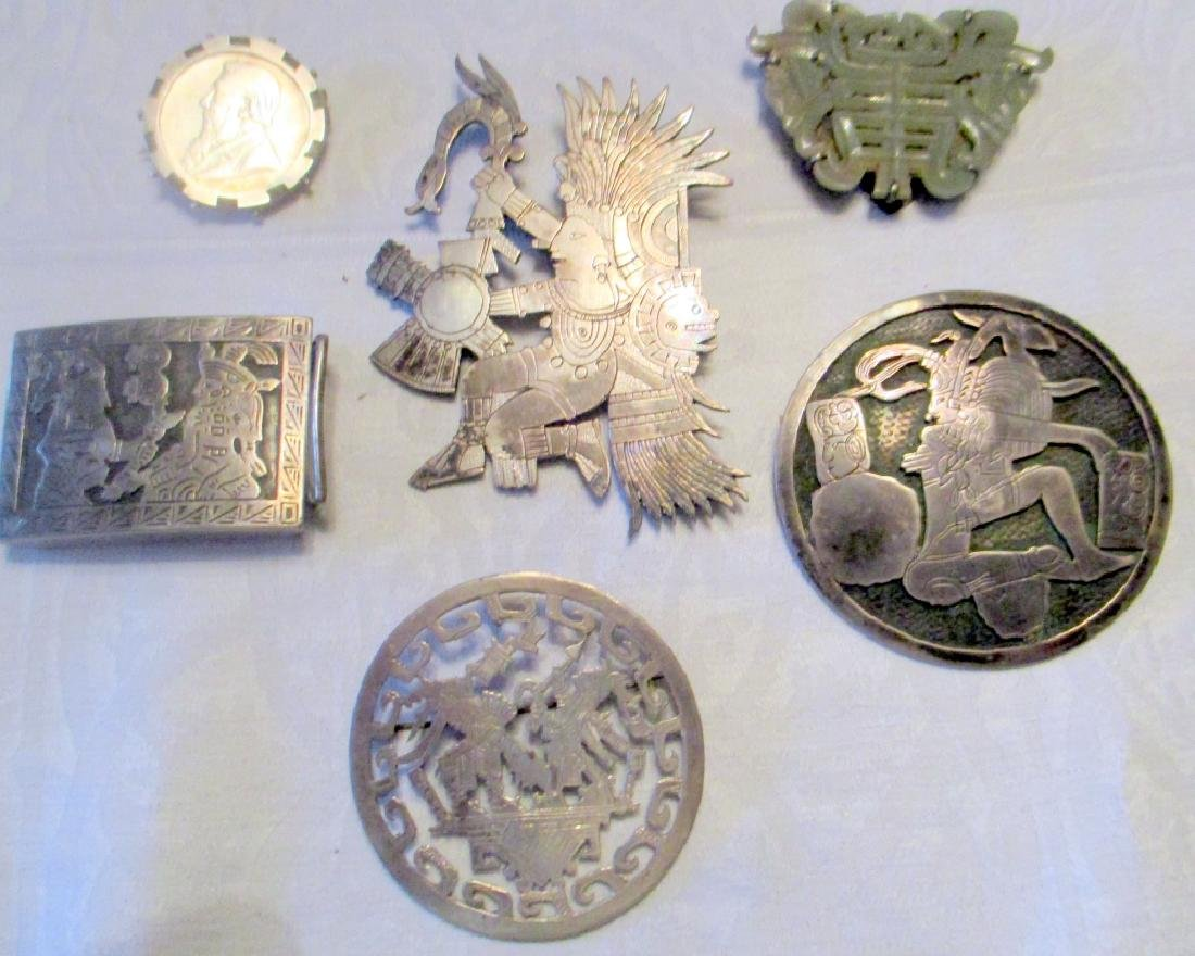 Lot of 6 Pieces of Silver Jewelry