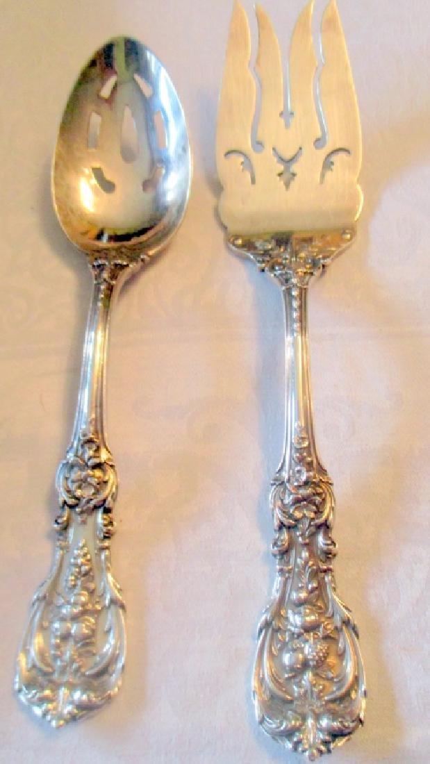 Francis I Sterling Serving Spoon & Fork