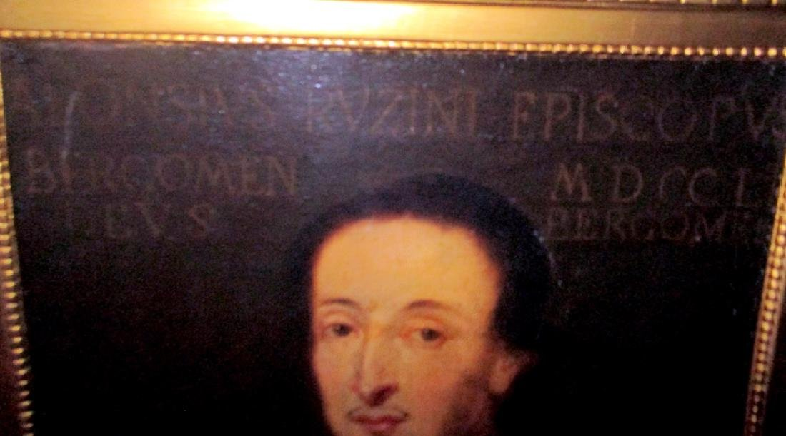 18th C. Oil on Canvas of Clergyman - 2