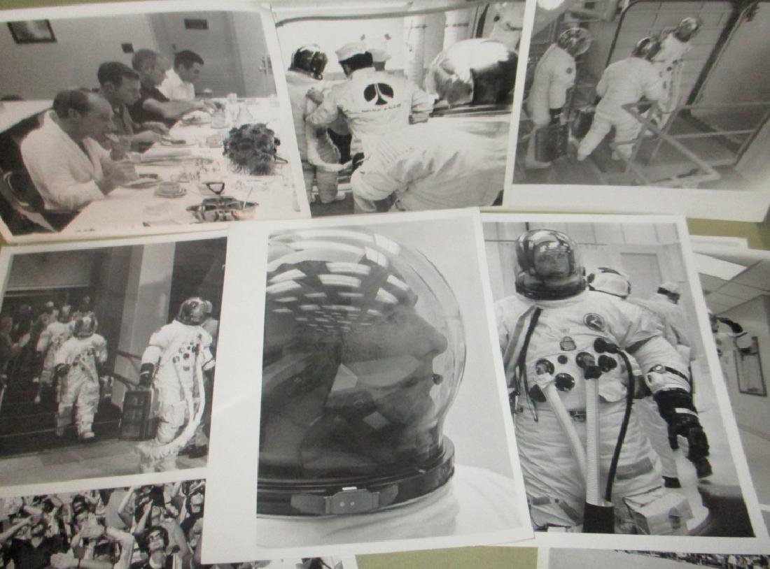 Lot of Ten Apollo 15 Photos