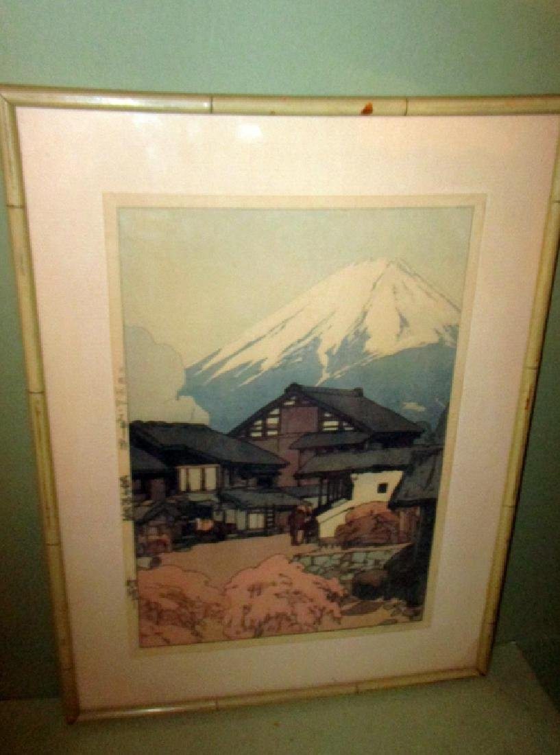 Japanese Block Print by Hiroshi Yoshida