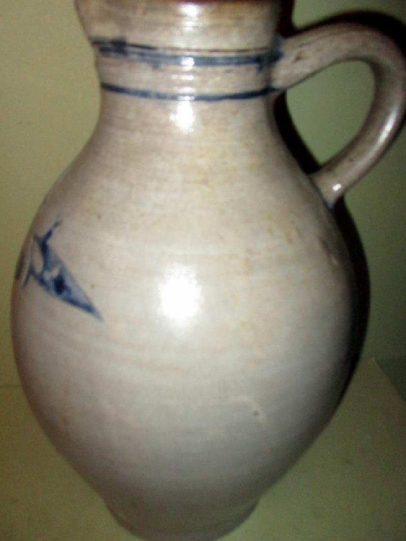 Wonderful American Salt Glaze Jug - 2