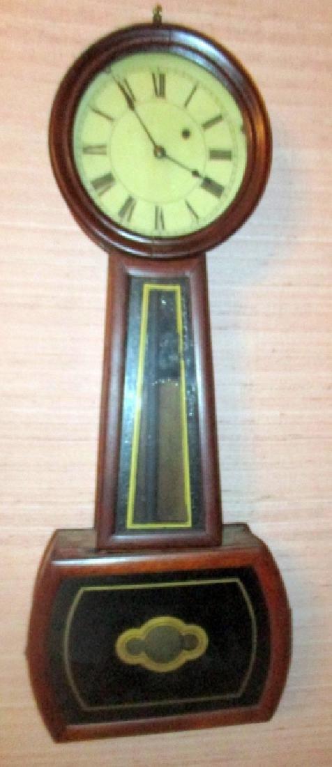1840s American Banjo Wall Clock