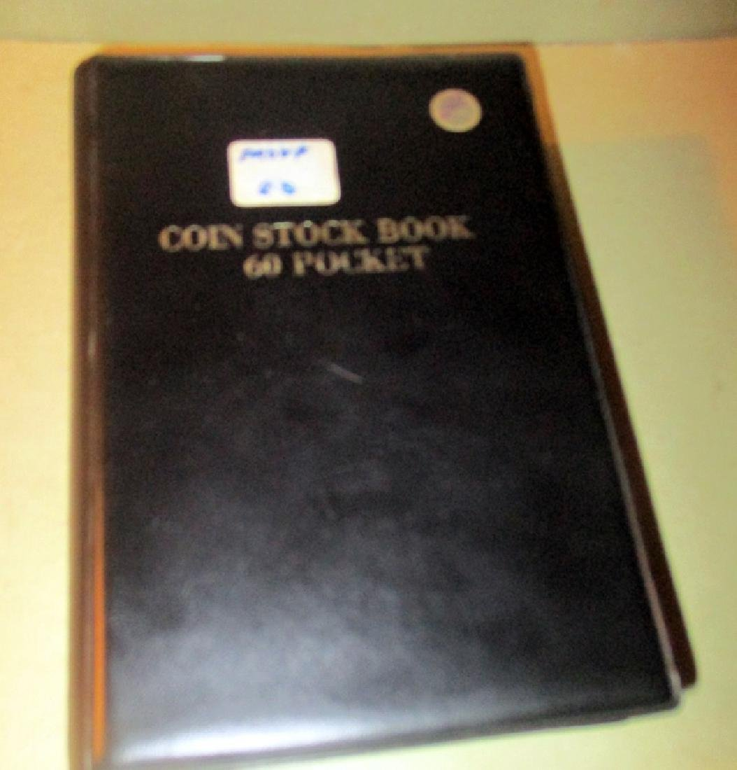 Coin Stock Book Filled With U.S. Coins - 3