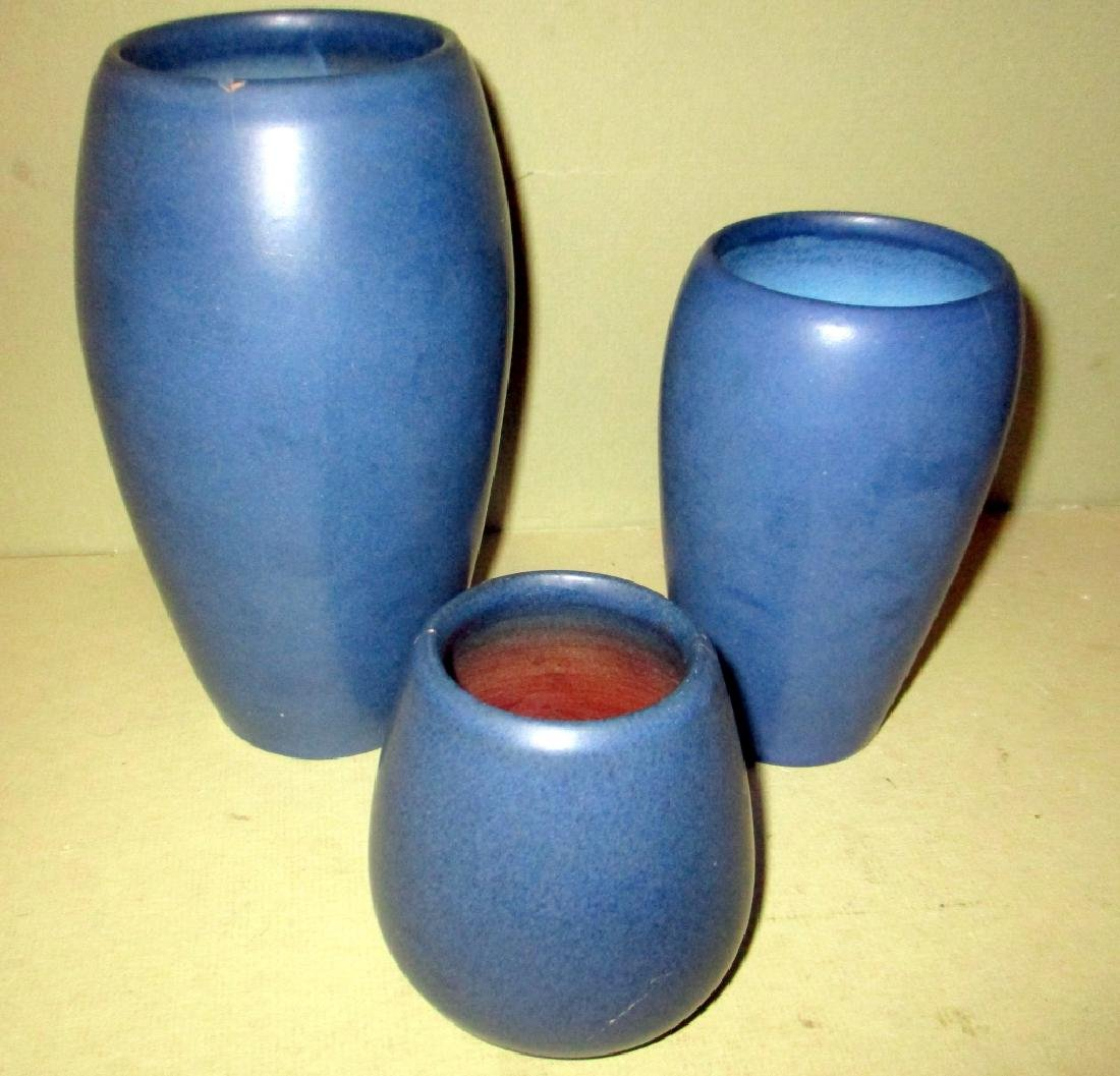 Three Pieces of Marblehead Pottery (as-is)