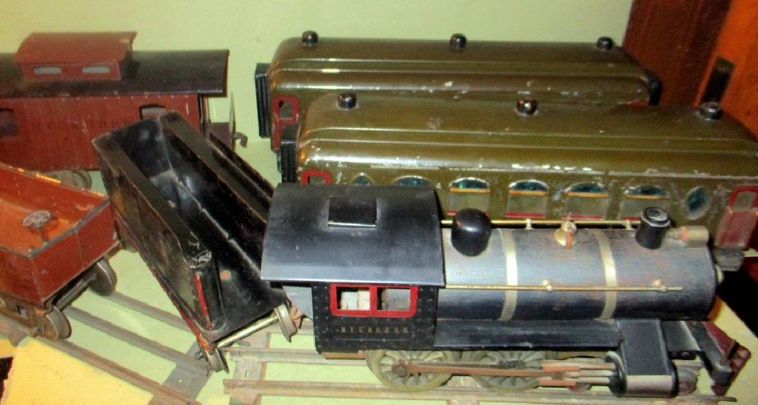Toy Train Set Circa 1910 MCB Cou[plers