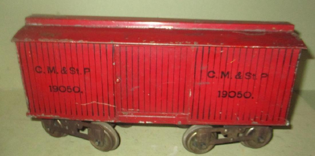 Toy Train Set Circa 1910 MCB Cou[plers - 4