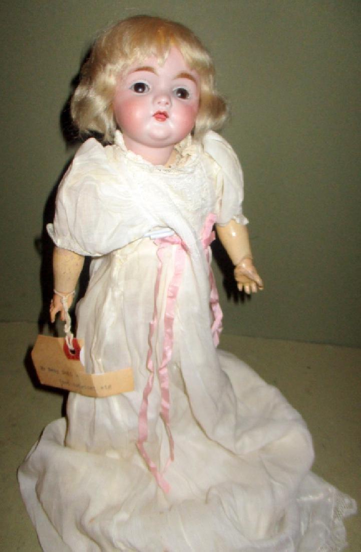 German Porcelain Head Antique Doll