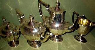 Four Piece Sterling Coffee & Tea Service by Gorham