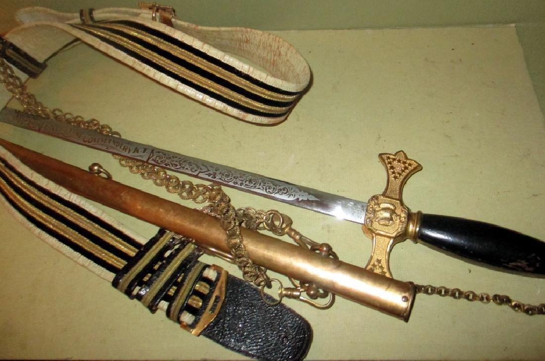 Masonic Dress Sword & Accessories