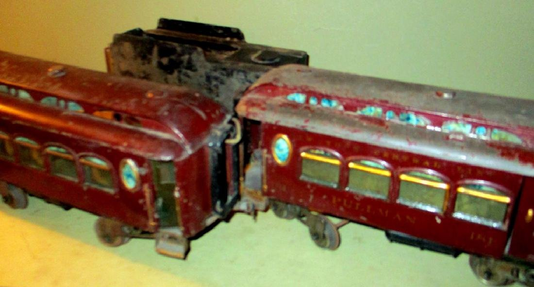 Two Lionel Pullman Electric Train Cars