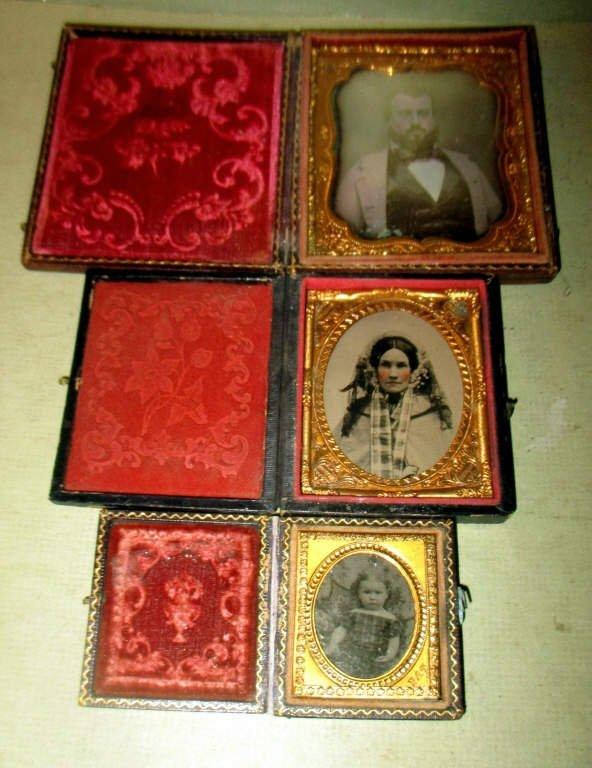 Three Victorian Photos
