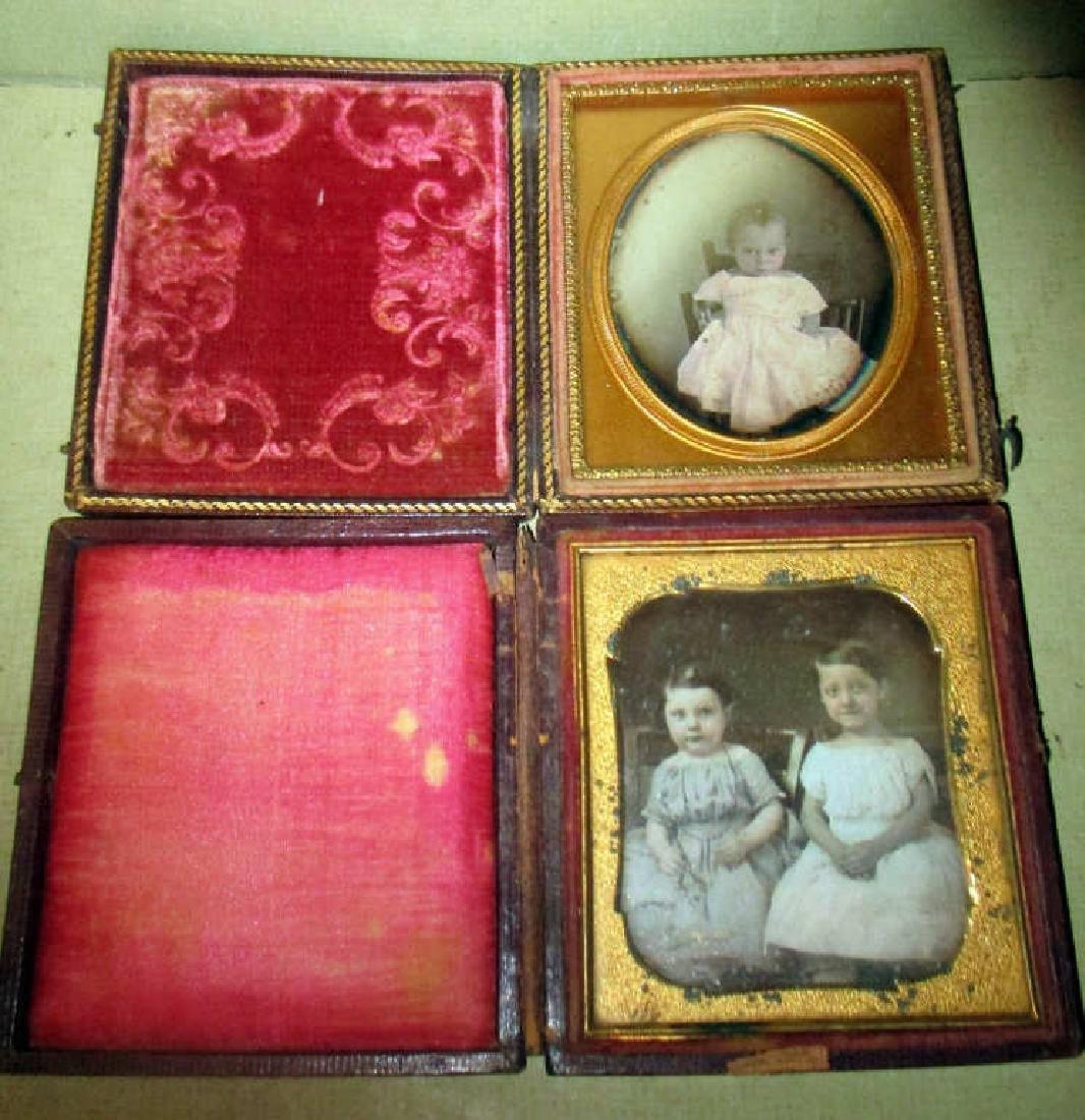 Two Daguerreotypes of Small Children