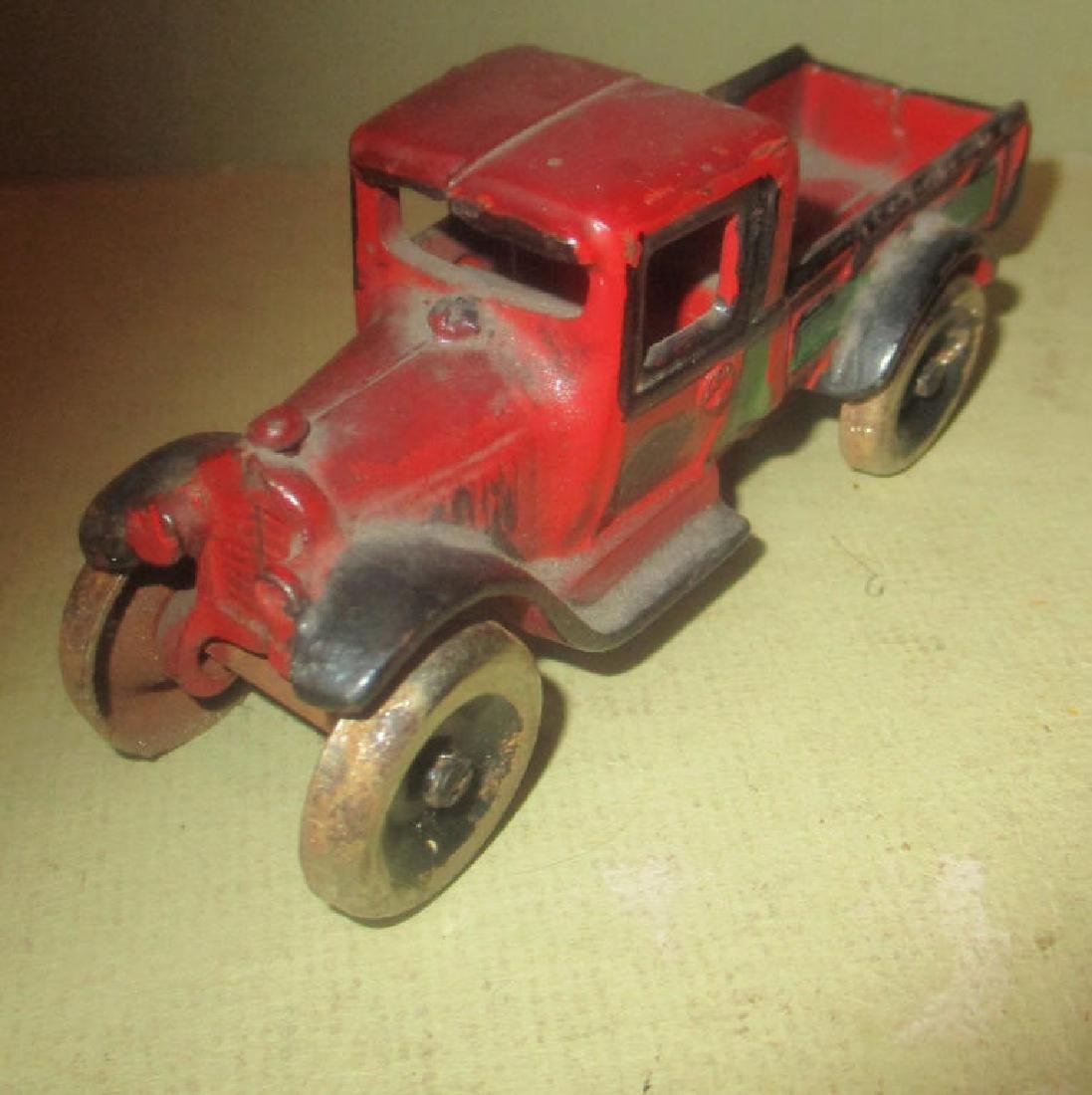Small Cast Iron Arcade Toy Truck - 2