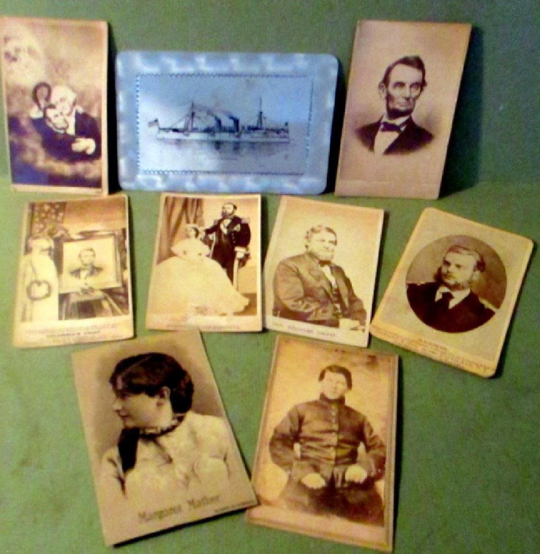 Lot of Political Cartes de Visite Type Photos