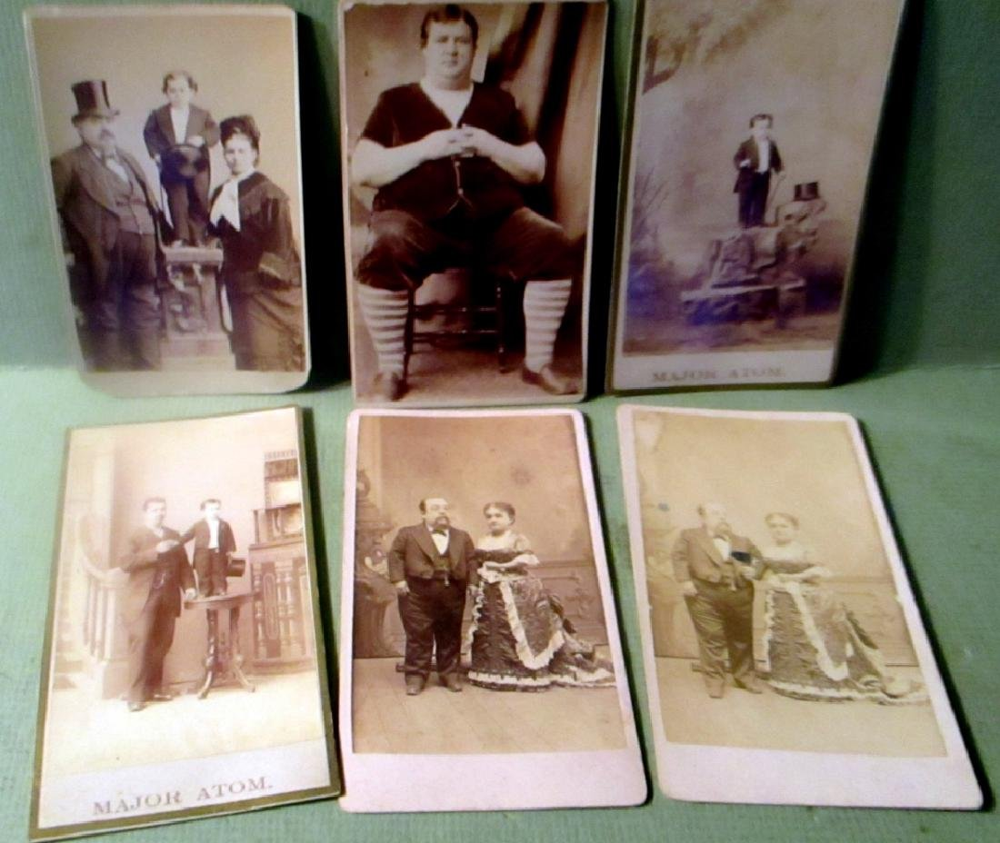 Lot of Cartes de Visite Type Photos
