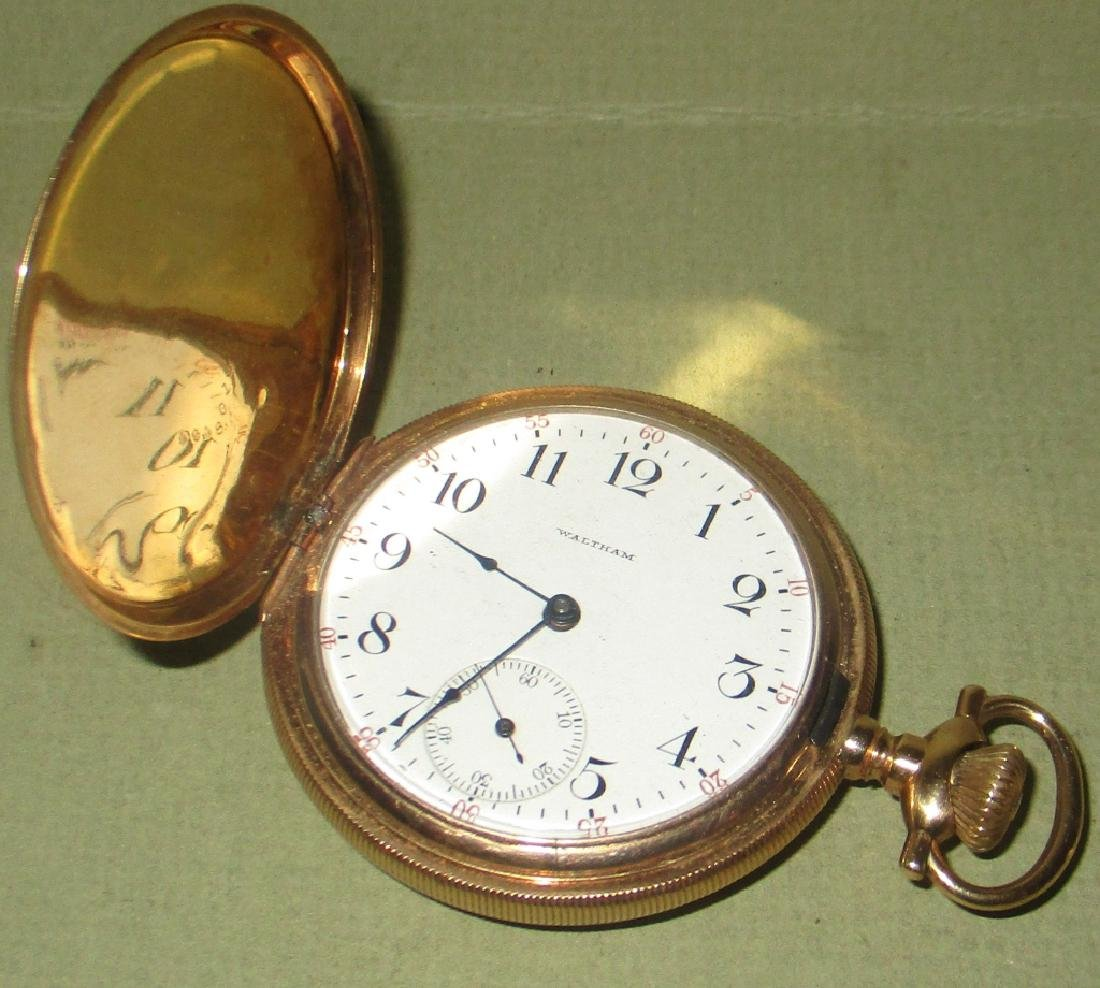 Waltham 14K Gold Men's Pocket Watch