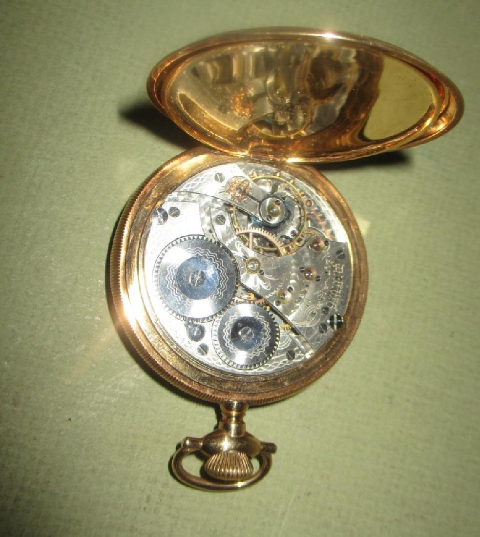 Waltham 14K Gold Men's Pocket Watch - 2