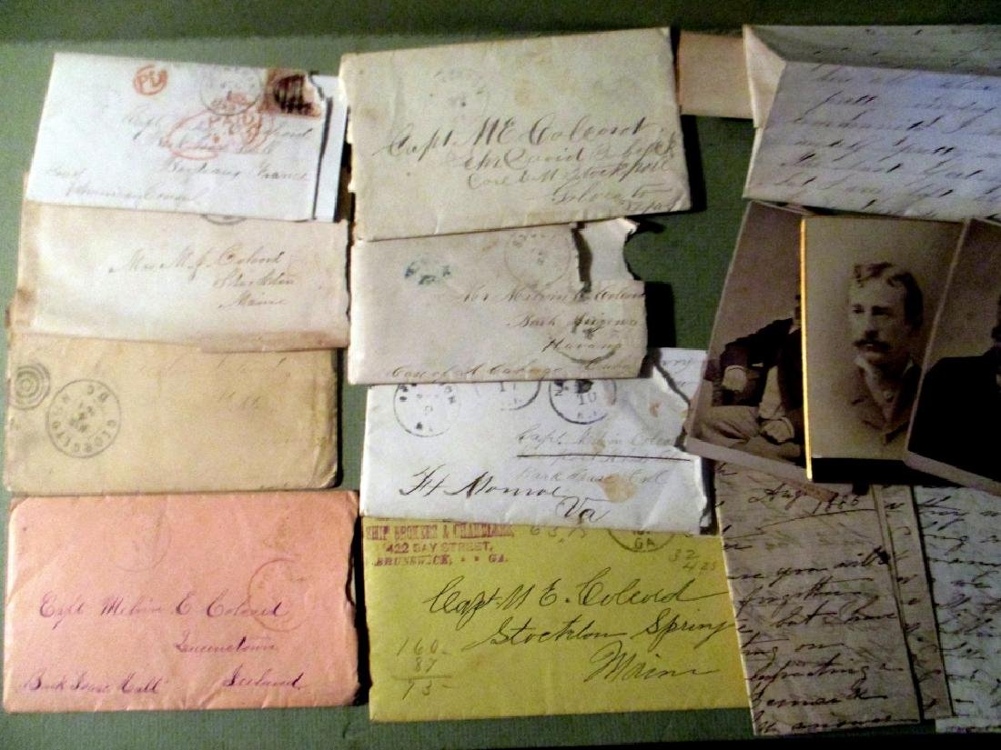 Letters & Ephemera of Capt. Melvin E. Colecord