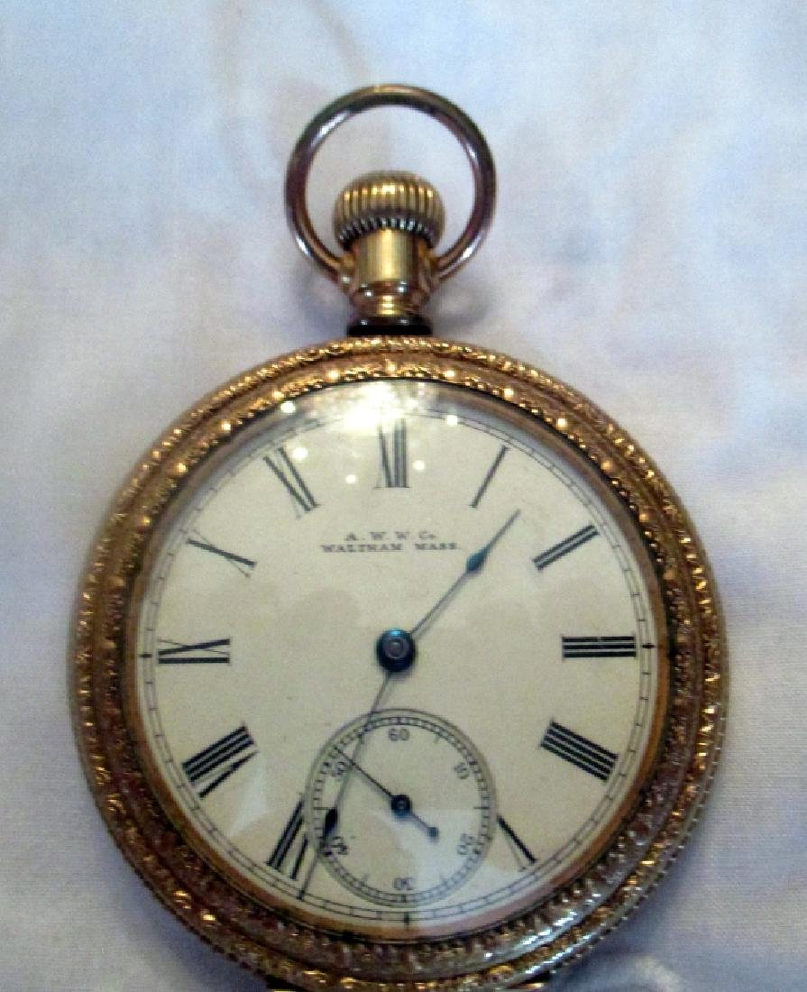 Waltham Men's 14K Gold Pocket Watch