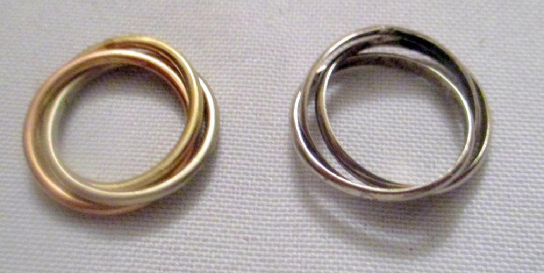 Two Rolling Rings