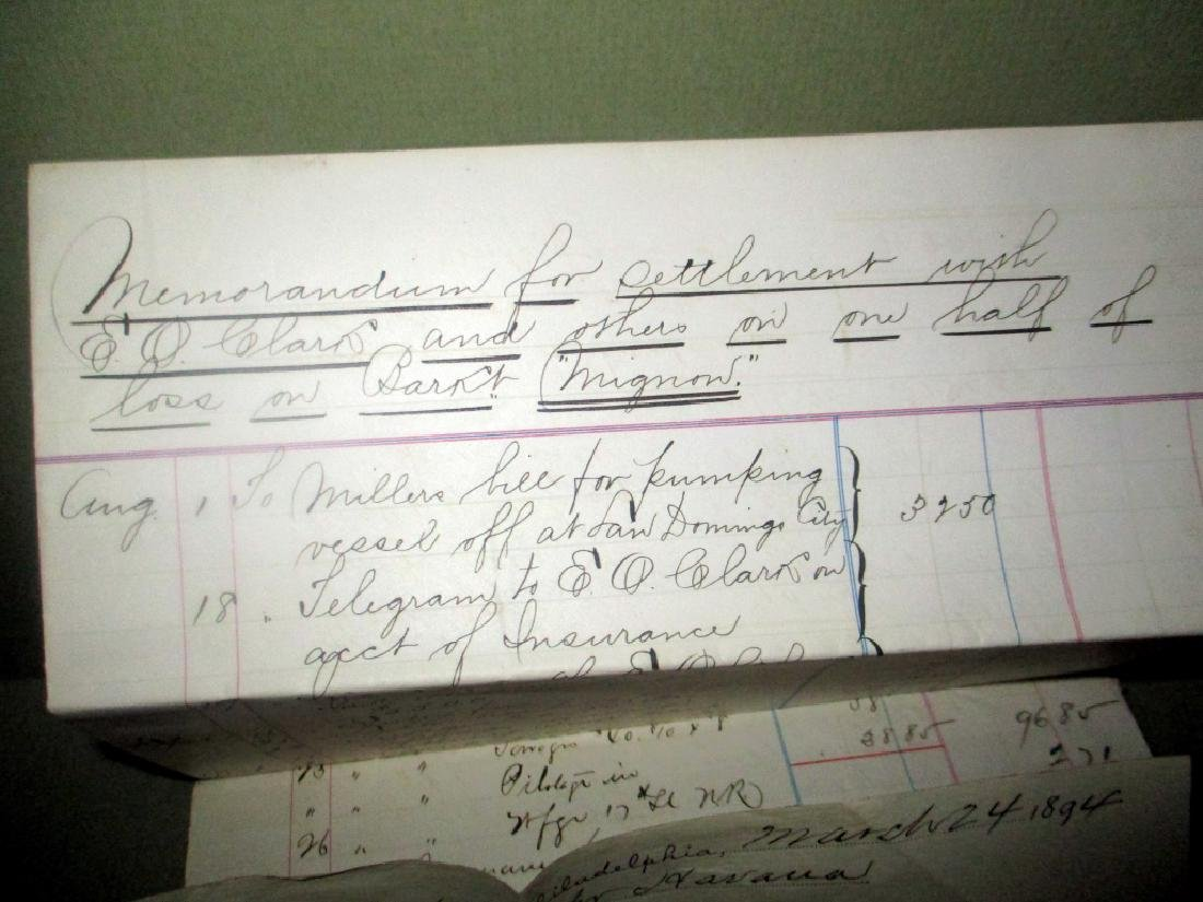Collection of Capt. Melvin Colecord Ship Documents - 2