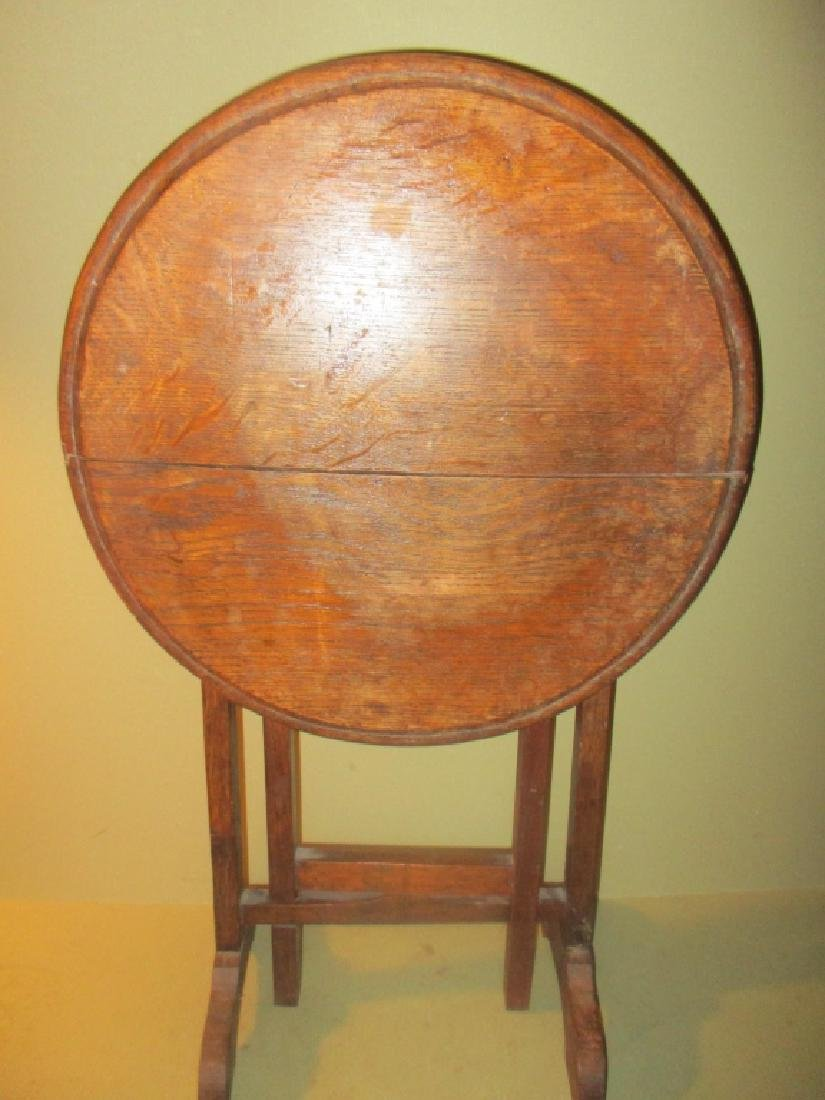 Antique Child's Tilt Top Table