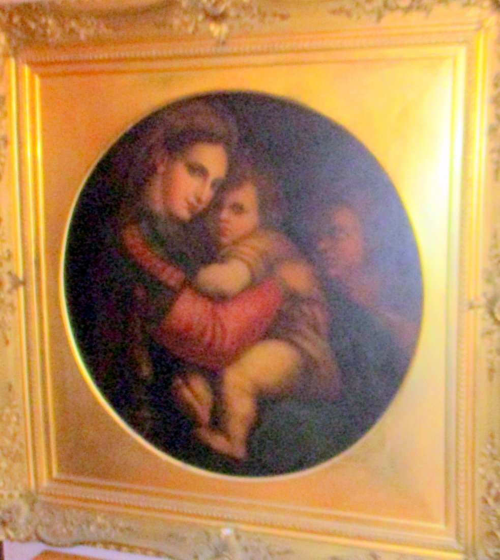 Grand Tour Copy of the Madonna of the Chair