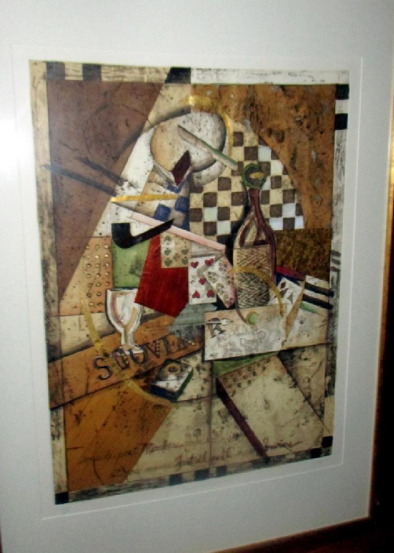 Original Lithograph by K Osgood