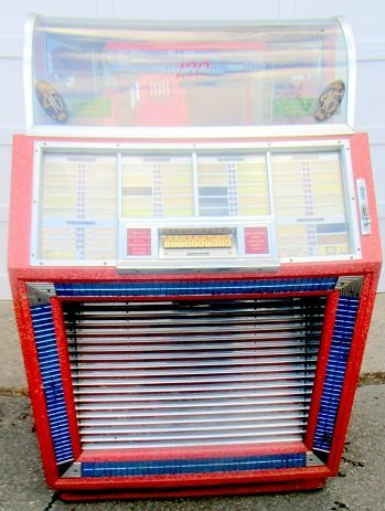 Original Seaburg 100, 45 RPM Selectomatic Juke Box