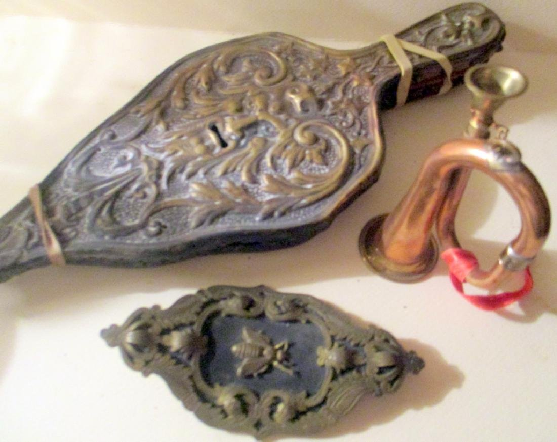 Misc. Lot of Antique Metal Items
