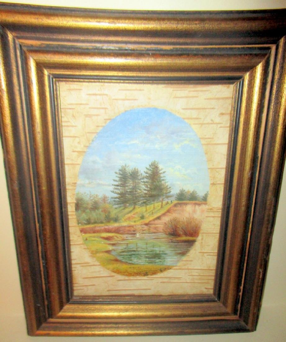 Trompe L'Oeil Painting of Landscape