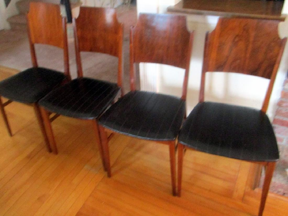 Set of Four Mid Century Side Chairs by Lane