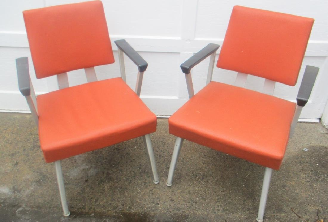 Pair of Good Form Mid Century Arm Chairs